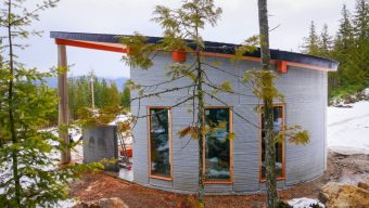 TAM's Fibonacci House, which has already received a permit from BC authorities, is the basis for the World Housing community.