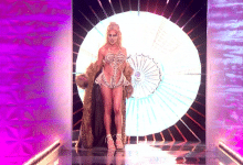 Rupaul Drag Race 3D printed runway