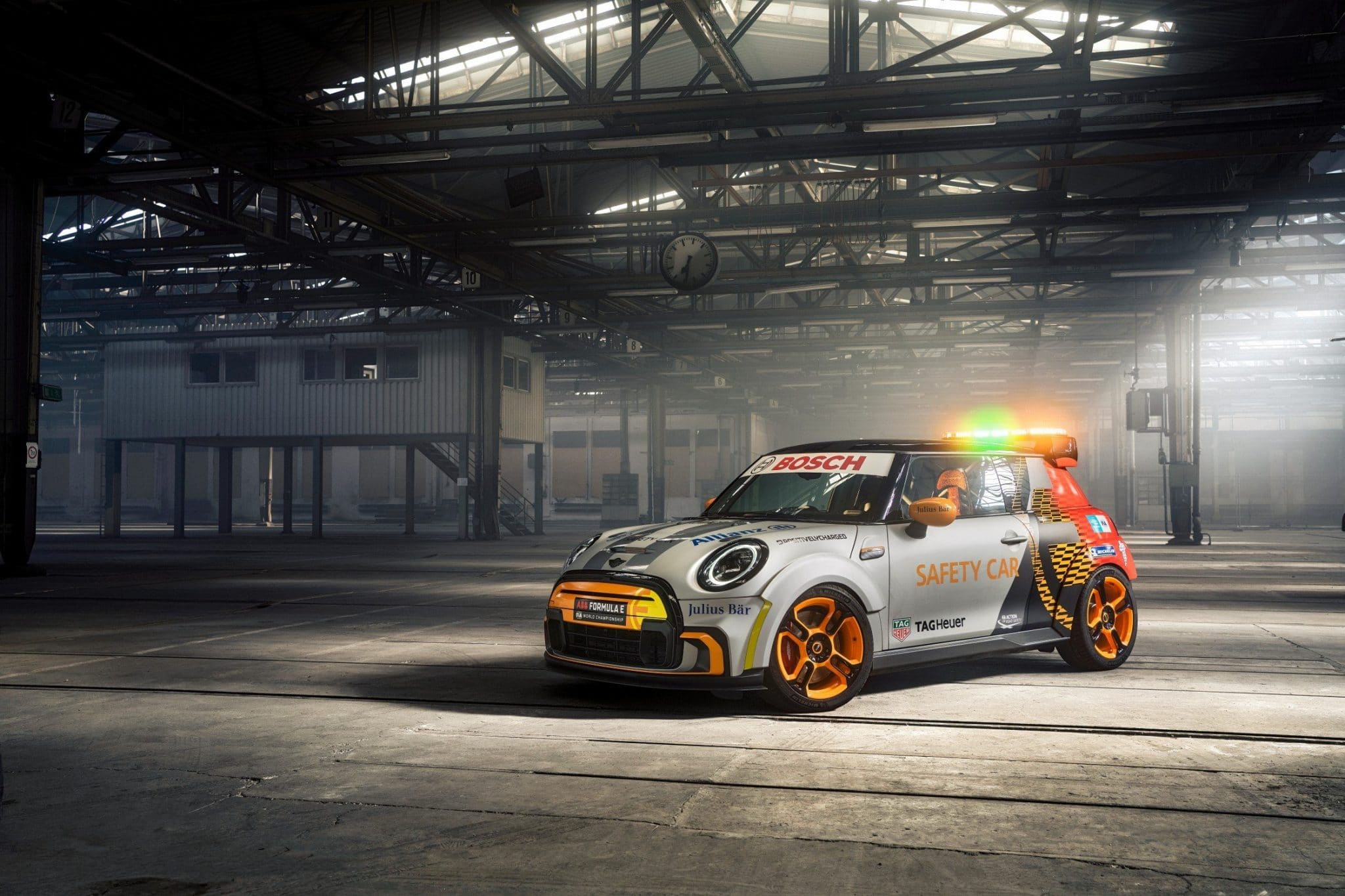 MINI Electric Pacesetter Formula E safety car features 3D printed seats and more