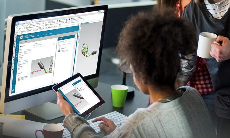 Siemens' Teamcenter portfolio in the workplace.