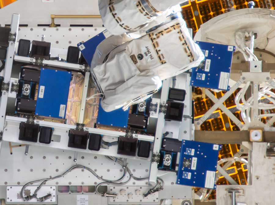 L3Harris sends 3D printed electronic circuit to the ISS