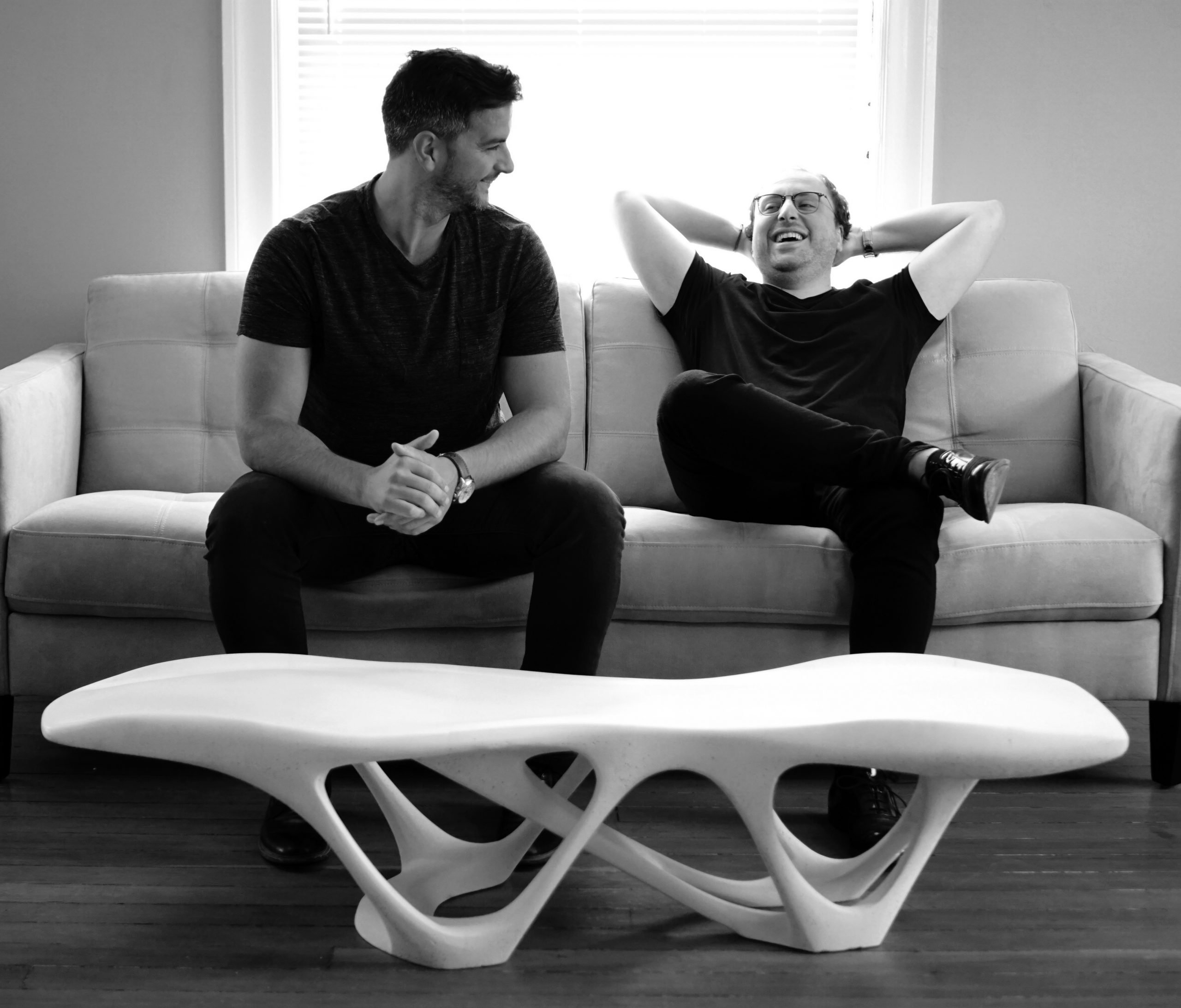 Slicelab shows Delicate Density Table in 3D printed concrete