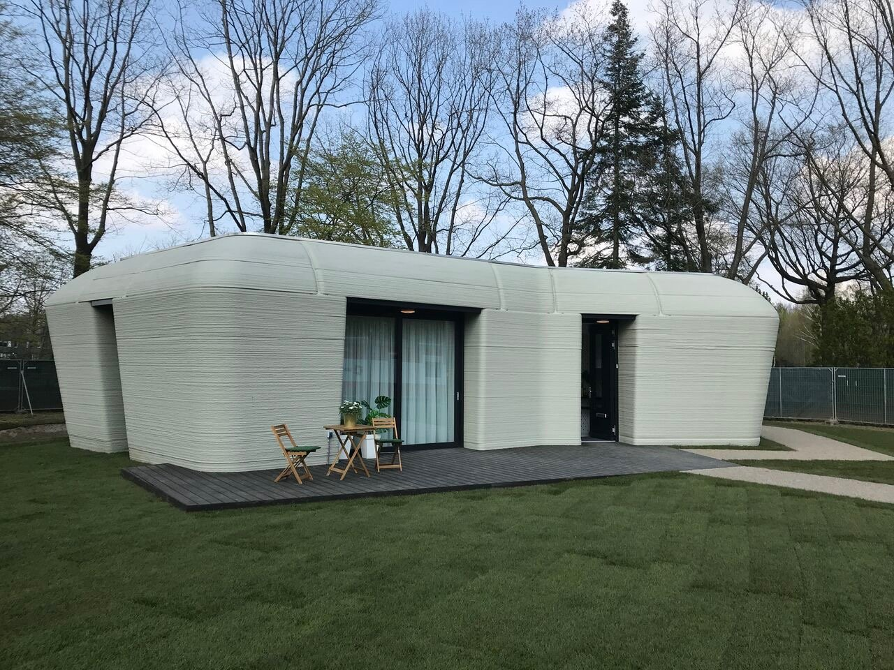 Project Milestone house is the fourth 3D printed home to get tenants
