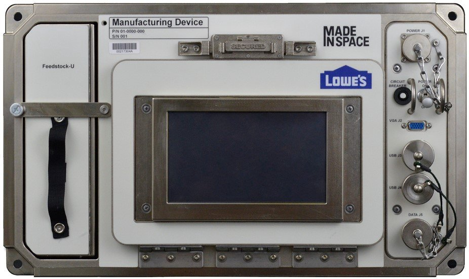 The ISS's new Brine Processor Assembly get 3D printed adapter