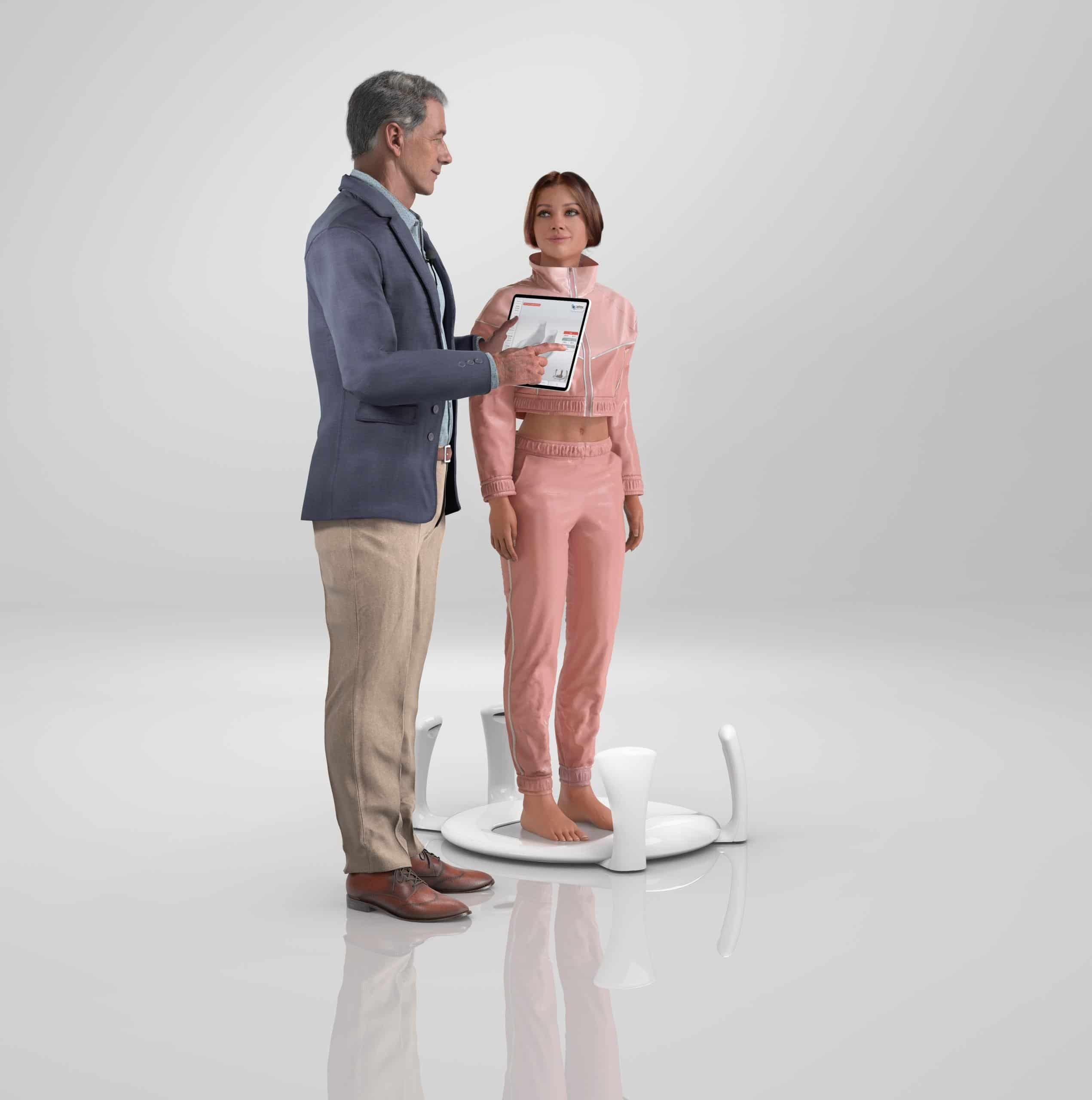 Aetrex makes advanced 3D foot scanning technology with Albert 3DFit