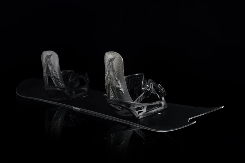Origin 3D printed snowboard bindings pass stress test on the slopes