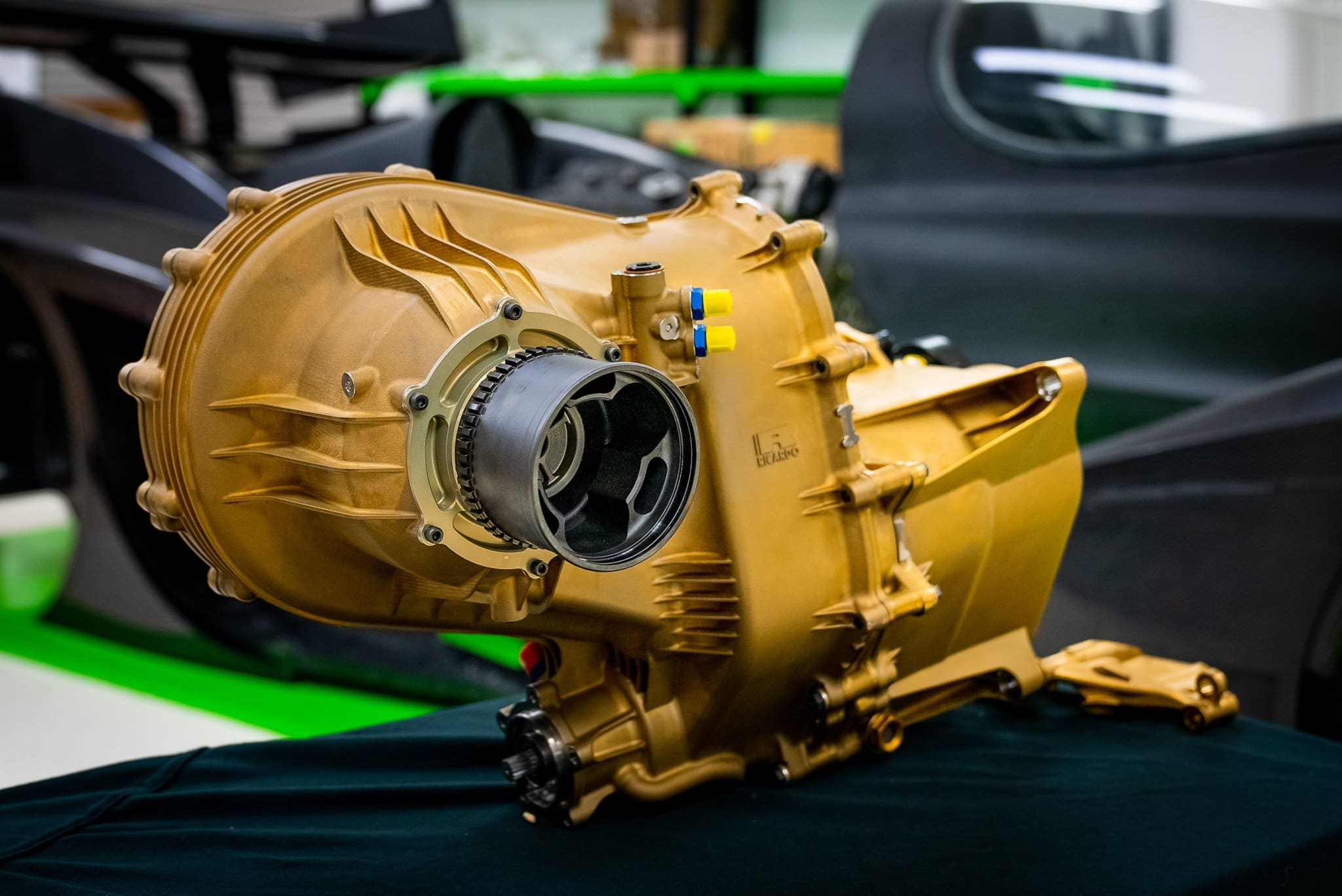 Rodin Cars manufactures 3D printed gearbox for Rodin FZero supercar