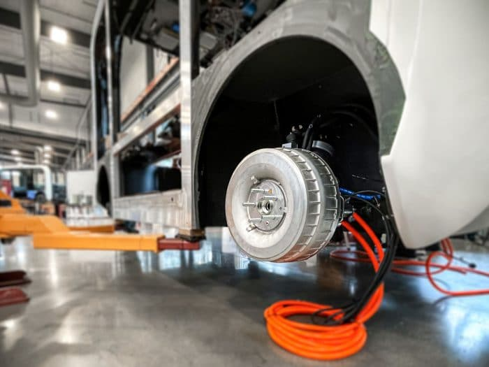 Protean Electric extend partnership to power Olli EVs