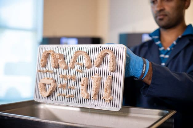 Nexa3D, the maker of ultrafast polymer 3D printers, launched the xMODEL 2505 dental material powered by BASF Forward AM.
