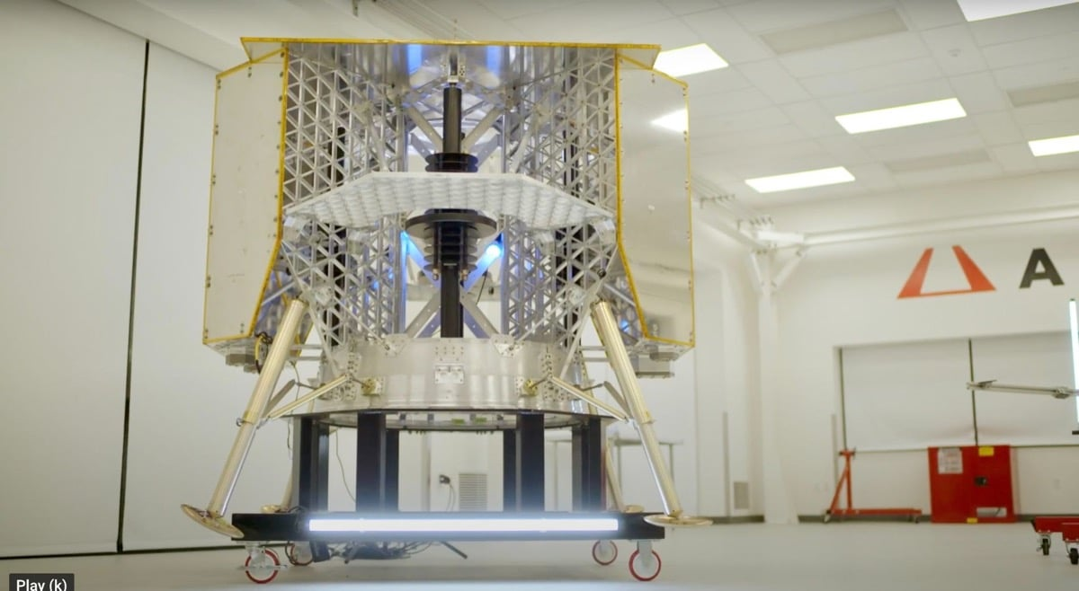 AON3D funding reaches $11.5M, sets sights on PM1 Moon lander mission