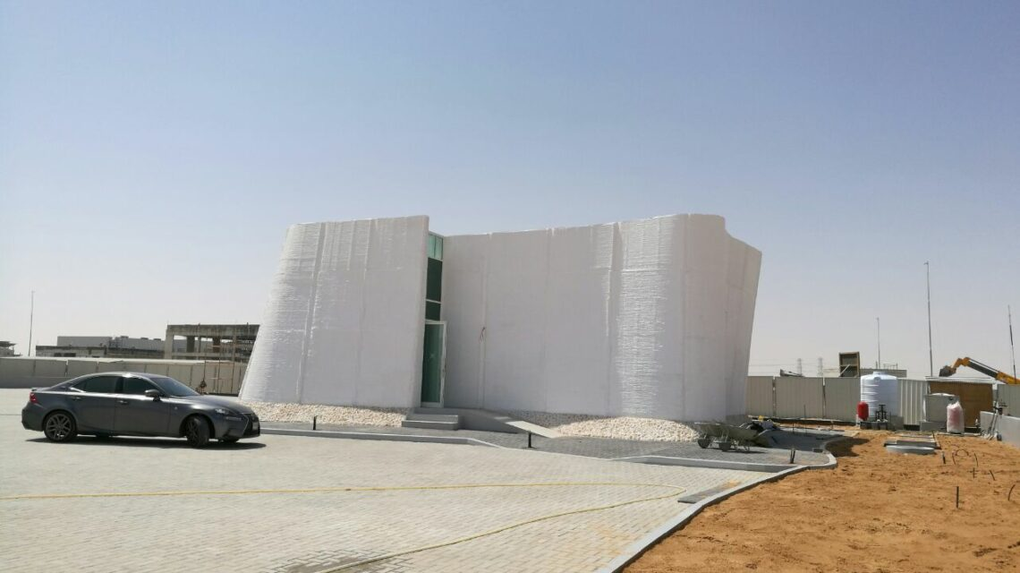 The DEWA lab while under construction by CyBE