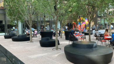 Dimensional Innovations bench IDS Center