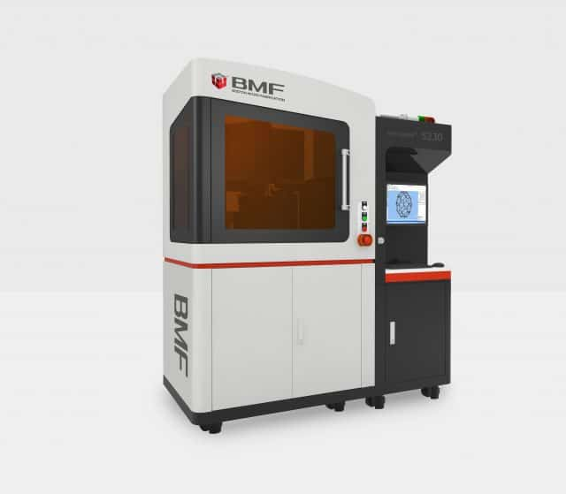 BMF introduces microArch S230: the microscale 3D printer