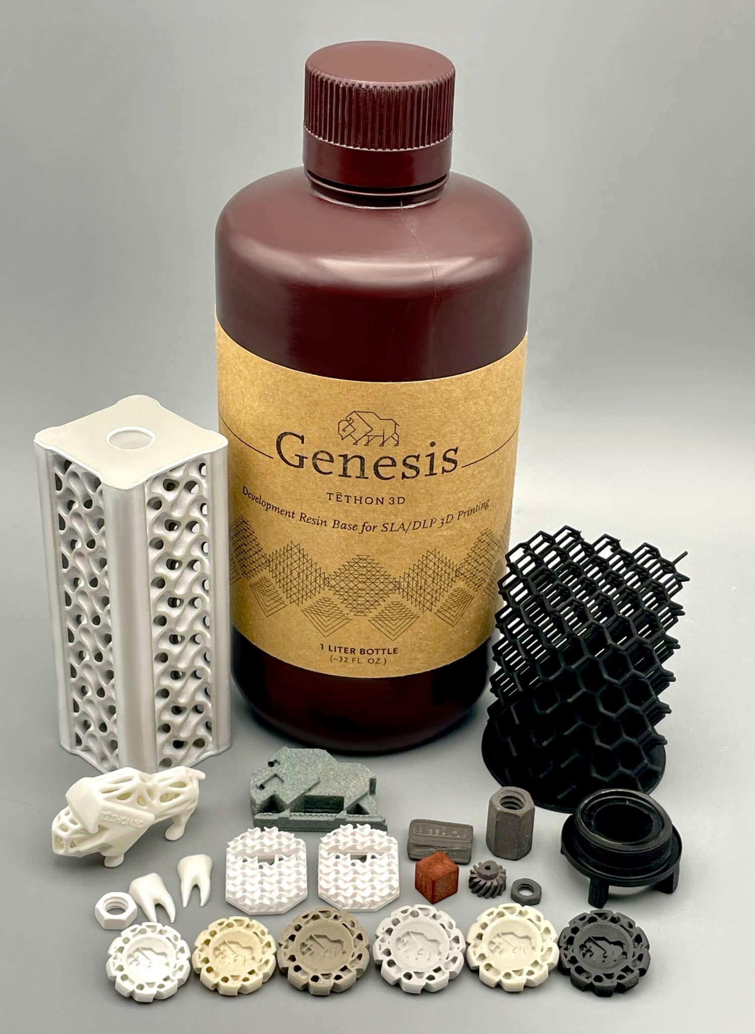 Tethon 3D receives patent for Genesis resins as a matrix for ceramic AM