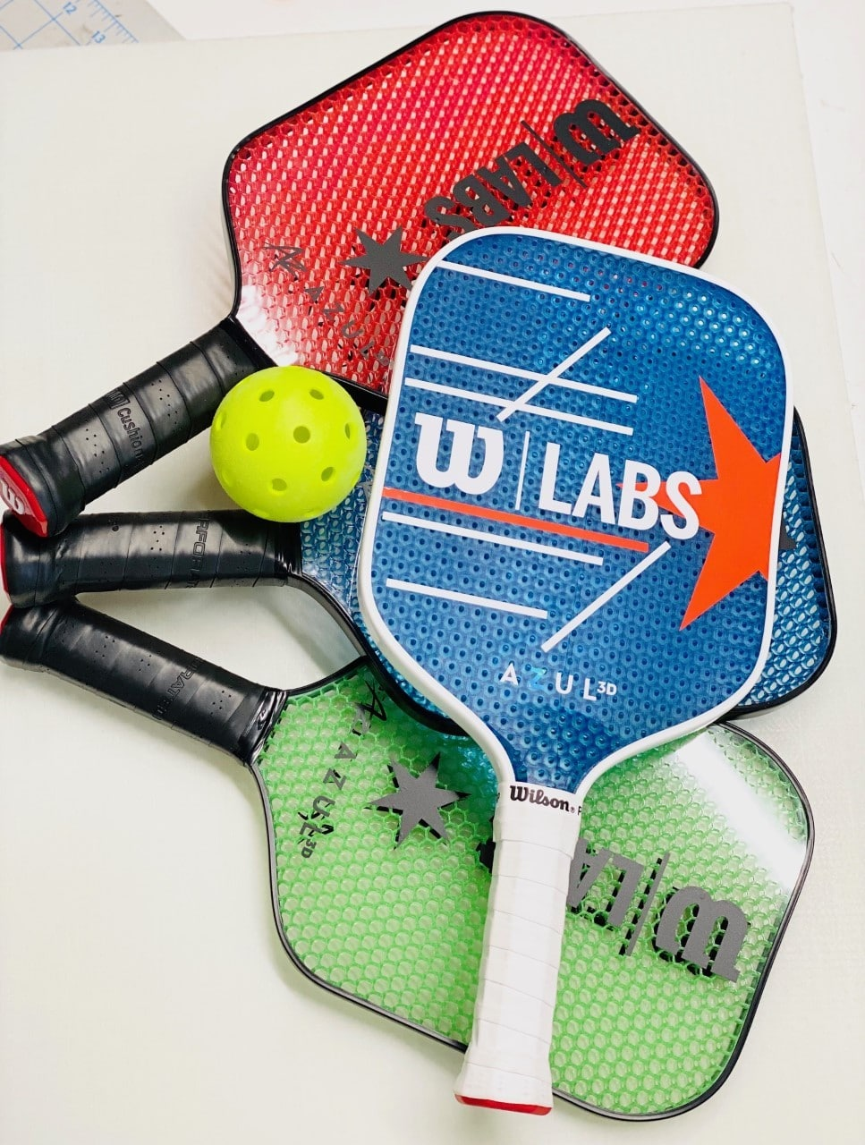 How Wilson developed two new 3D printed pickleball paddles