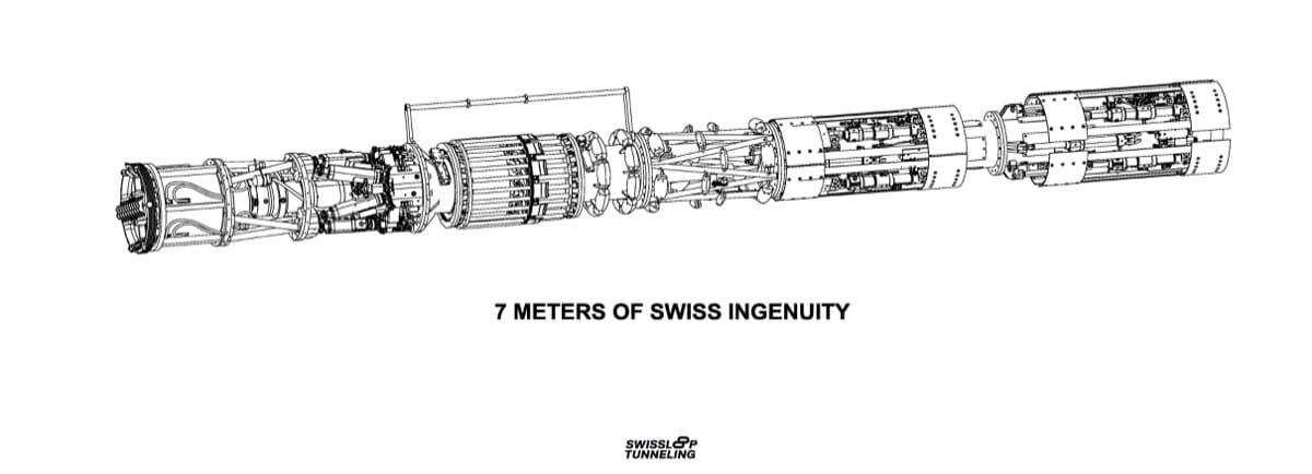 Swissloop Tunnel vision: boring while 3D printing a hyperloop tunnel