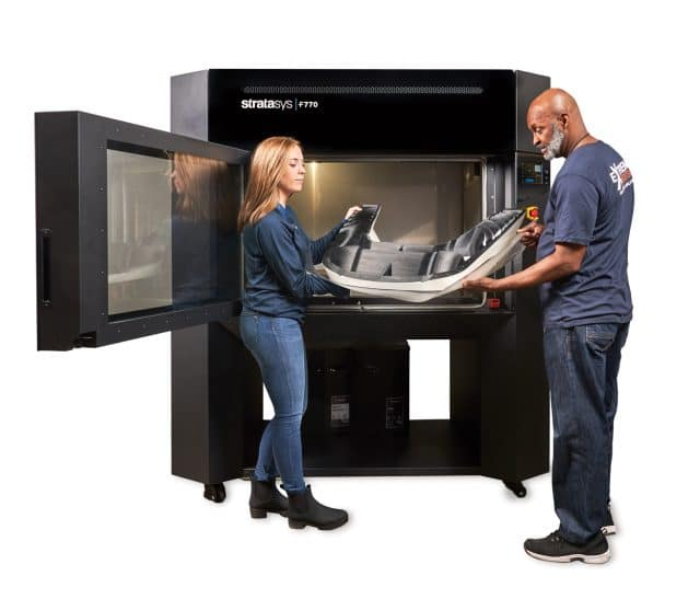 Stratasys will use Formnext as the European debut of the Origin One 3D printer, the H350 3D printer, and the F770 FDM 3D printer