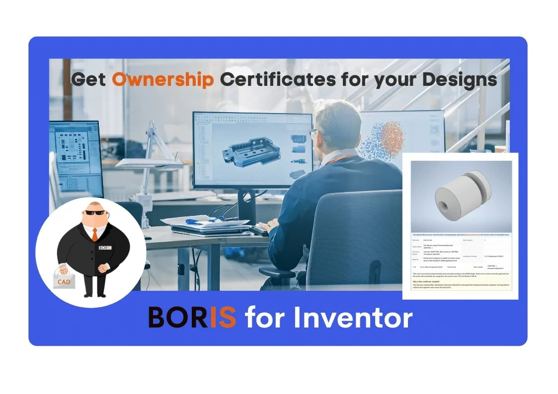 CADChain launches BORIS to protect sensitive shared CAD files for Autodesk Inventor